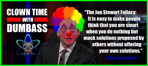 bill maher clown